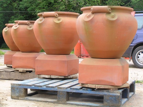 Planters, urns and flower pots