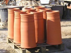 Handthrown And Handmade Terracotta Chimney Pots